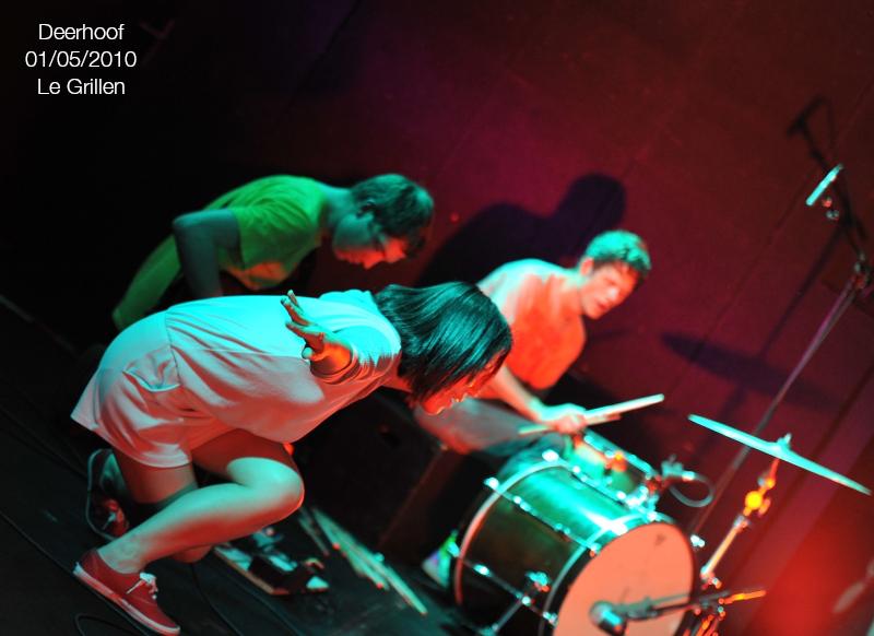 Deerhoof01:05:2010Grillen